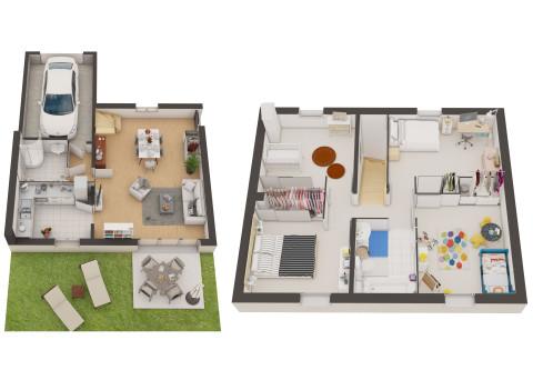 portfolio plan de vente 3d 3dms. Black Bedroom Furniture Sets. Home Design Ideas