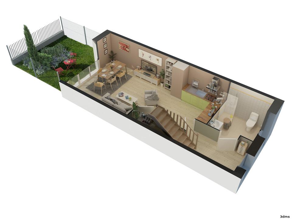 Site Pour Plan De Maison Prprojet De Des Maisons Dtuites Lors Du